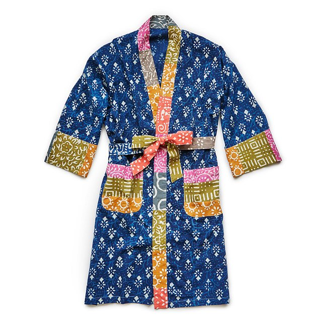 Block Printed Robe