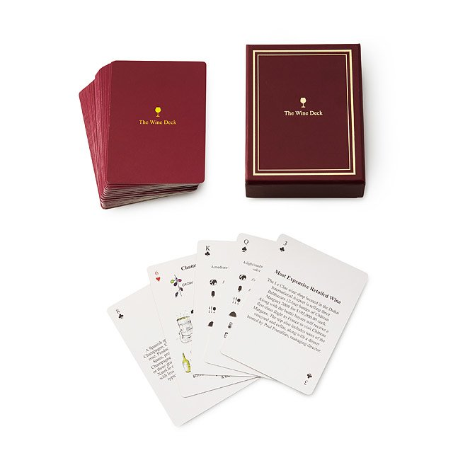 Wine Lover's Card Deck