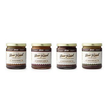 Beer Enhanced Caramel - Set of 4
