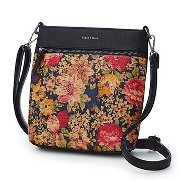 Fresh Floral Cork Crossbody Bag