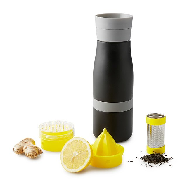 Citrus and Ginger Tea Infusing Bottle