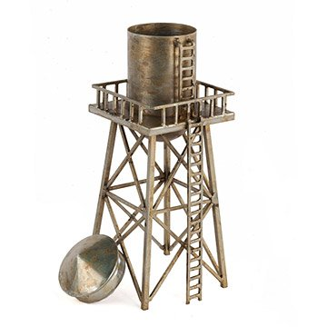 Steel Water Tower Sculpture