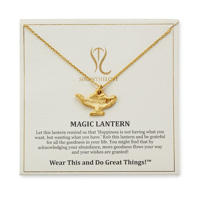 Magic Lantern Necklace