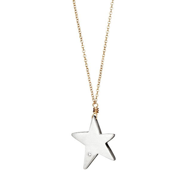 Wish Upon A Star Diamond Necklace