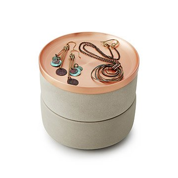 Copper Orb Jewelry Box