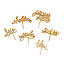 Wooden Cheese Picks - Set of 6 2 thumbnail