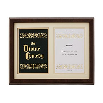 Divine Comedy Personalized Shadowbox - Milestone