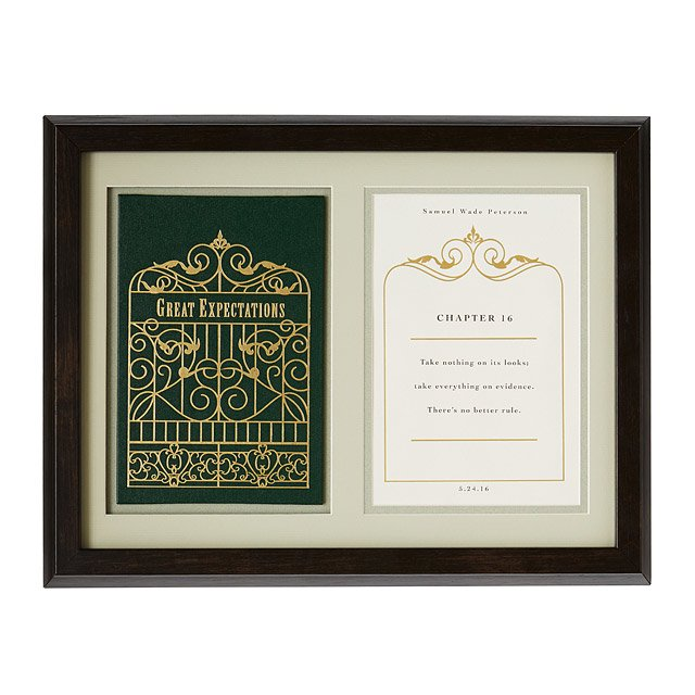 Great Expectations Personalized Shadowbox