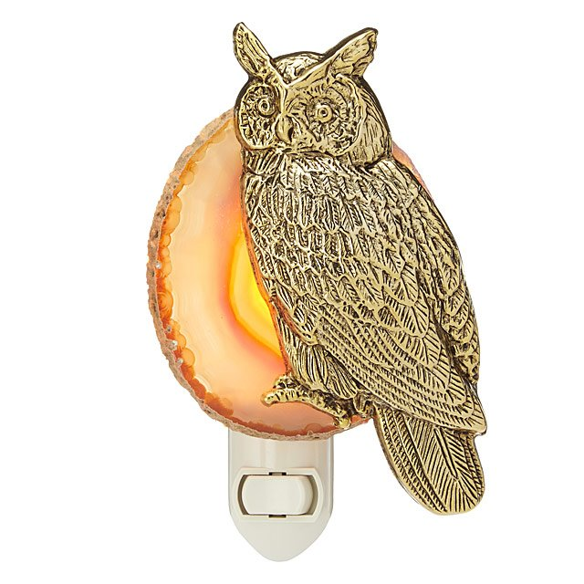Night Owl Agate Nightlight