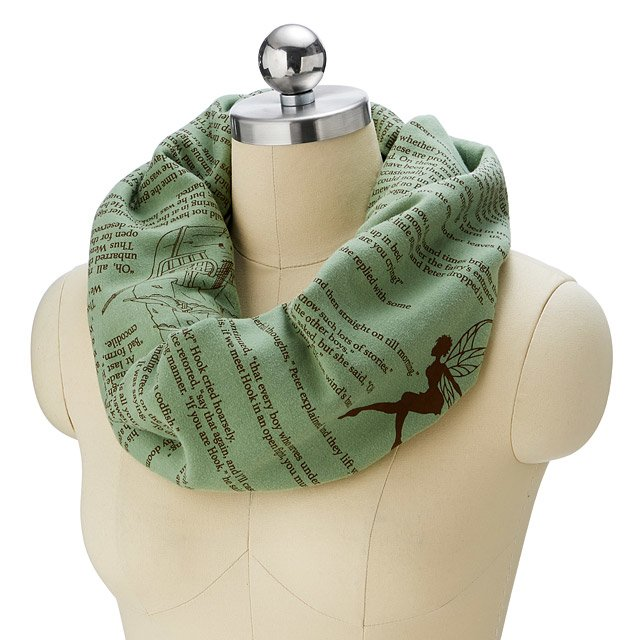 Peter Pan Literary Scarf