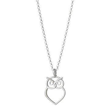 Mother Owl Necklace