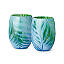Feather Stemless Wine Glasses - Set of 2 2 thumbnail