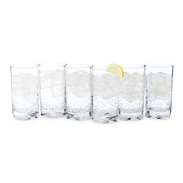 Unbreakable Tumbler Glasses - Set of 6