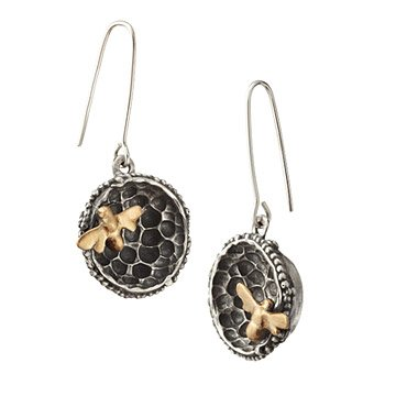 Bee Hive Earrings