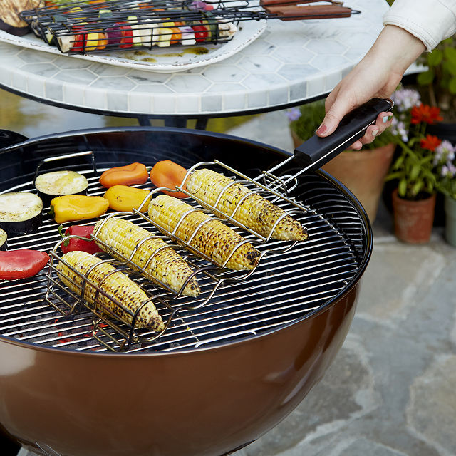 Corn on the Cob Grilling Baskets