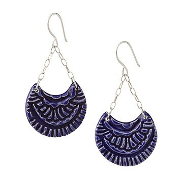 Scalloped Earrings