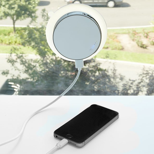 Port Window Solar Charger