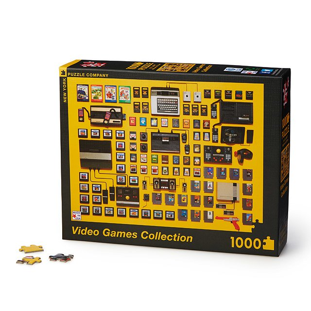 Video Games Collection Puzzle
