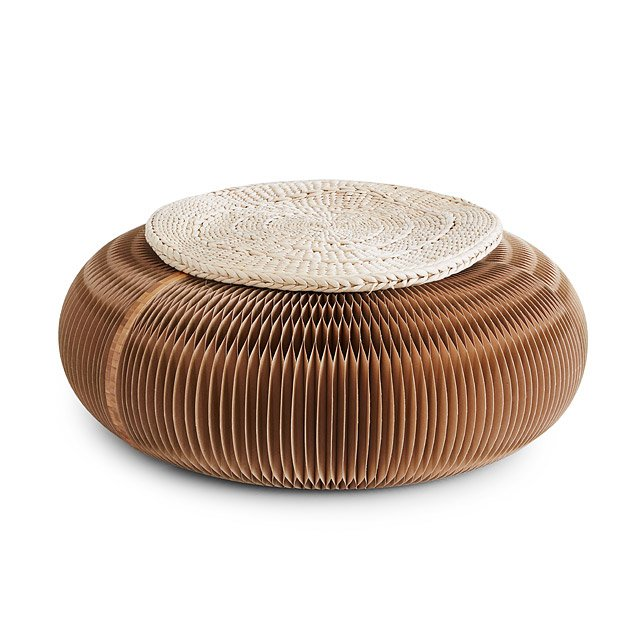 Accordion Pouf
