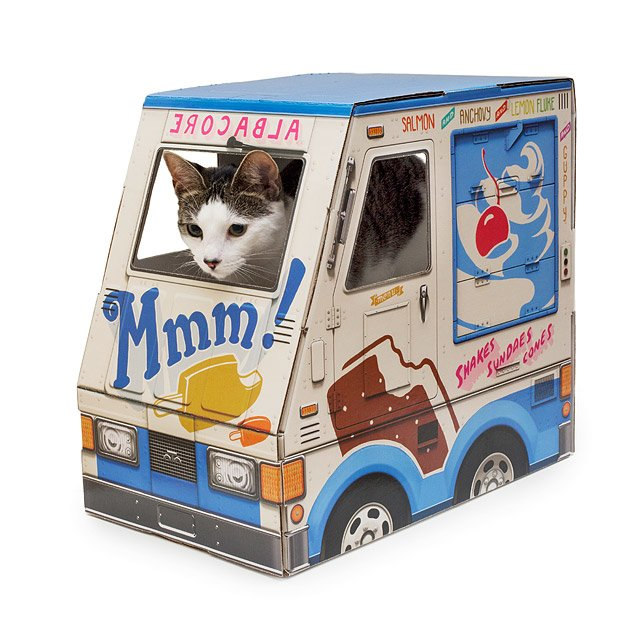 ice cream cat house