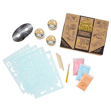 Sidewalk Chalk Tagging Kit