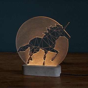 LED Unicorn Lamp