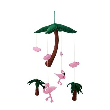 Pink Flamingo Mobile