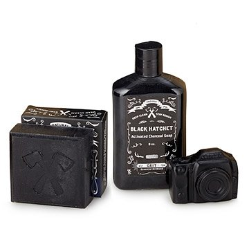Men's Charcoal Skincare Set
