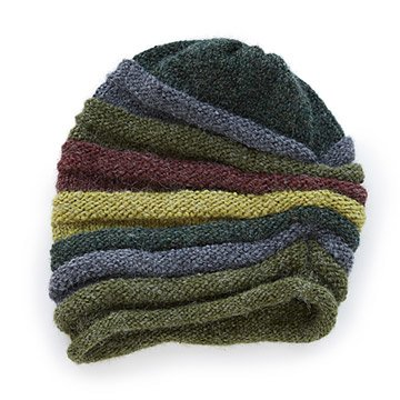Roll Slouchy Stripe Hat