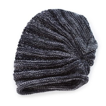 Roll Variegated Slouchy Hat