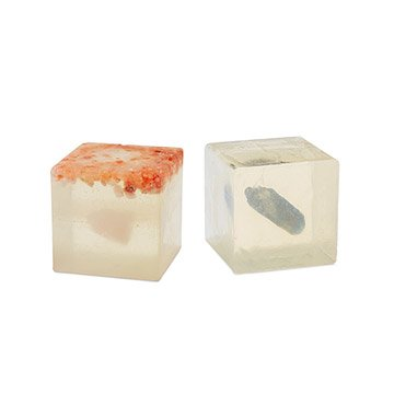Encased Crystal Affirmation Soaps