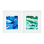 Tidal Shift Print in Emerald Ink 3 thumbnail