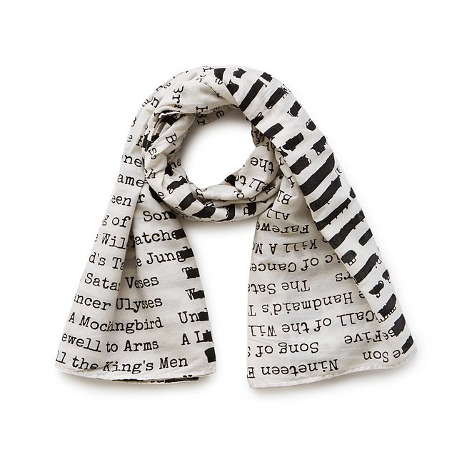 Banned Books Scarf