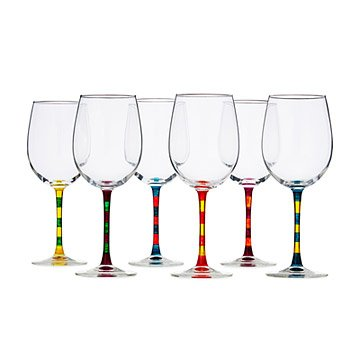 Soiree Wine Glasses - Set of 6