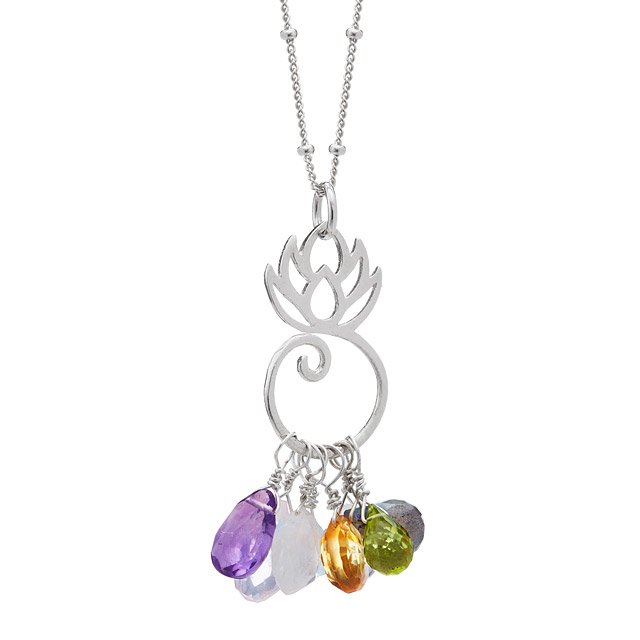 Mom-to-Be Gemstone Necklace