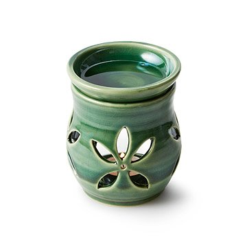 Leaf Stoneware Wax Warmer & Wax Melts