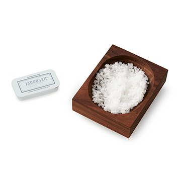 Salt Cellar with Hand-Harvested Sea Salt