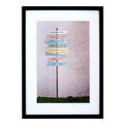 Personalized Family Signpost Art