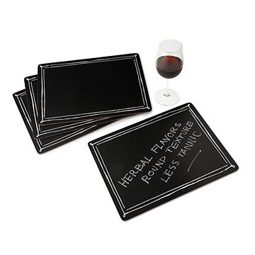 Blackboard Placemats - Set of 4