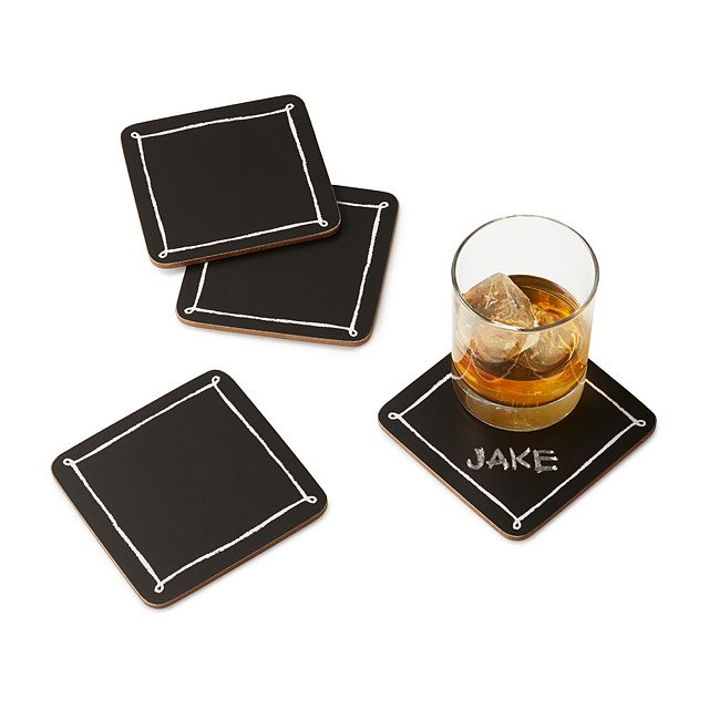 Blackboard Coasters - Set of 4