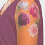 Scented Floral Temporary Tattoos 3 thumbnail