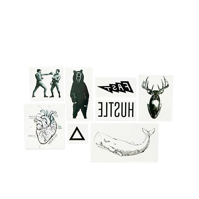 Nostalgic Temporary Tattoos