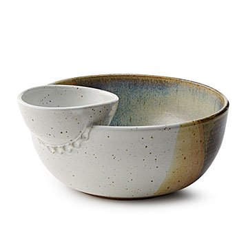 Chip and Dip Serving Bowl Duo