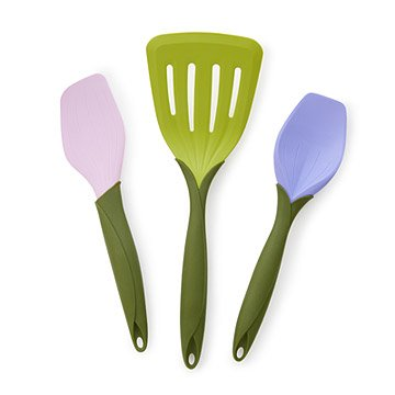 Flower Bouquet Kitchen Utensils - Set of 3