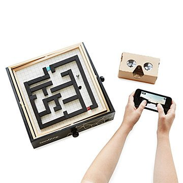 Virtual Reality Maze Builder