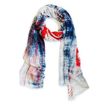 Landmark Scarf: The Golden Gate Bridge