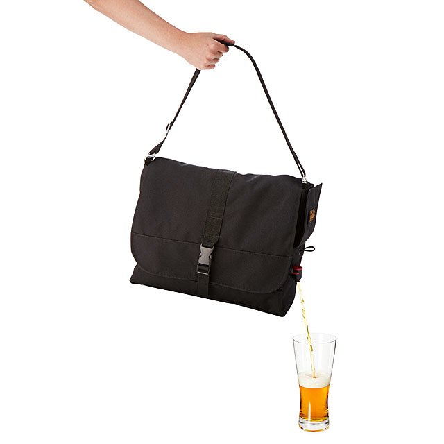 Craft Beer & Beverage Dispensing Carryall Bag