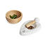 Marble and Beech Wood Mortar and Pestle 3 thumbnail