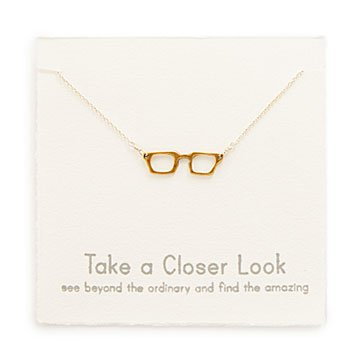 Eyeglasses Charm Necklace