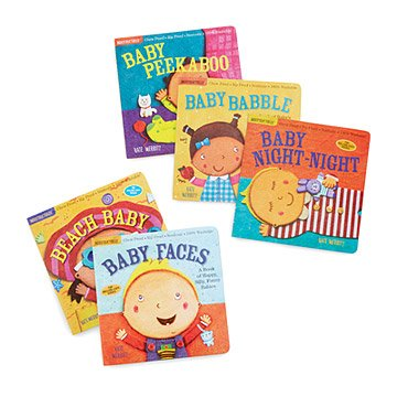 Indestructible Baby Book Set